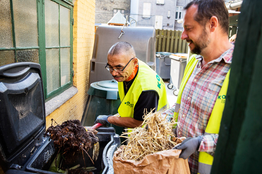 Kompostering i andelsforeninger