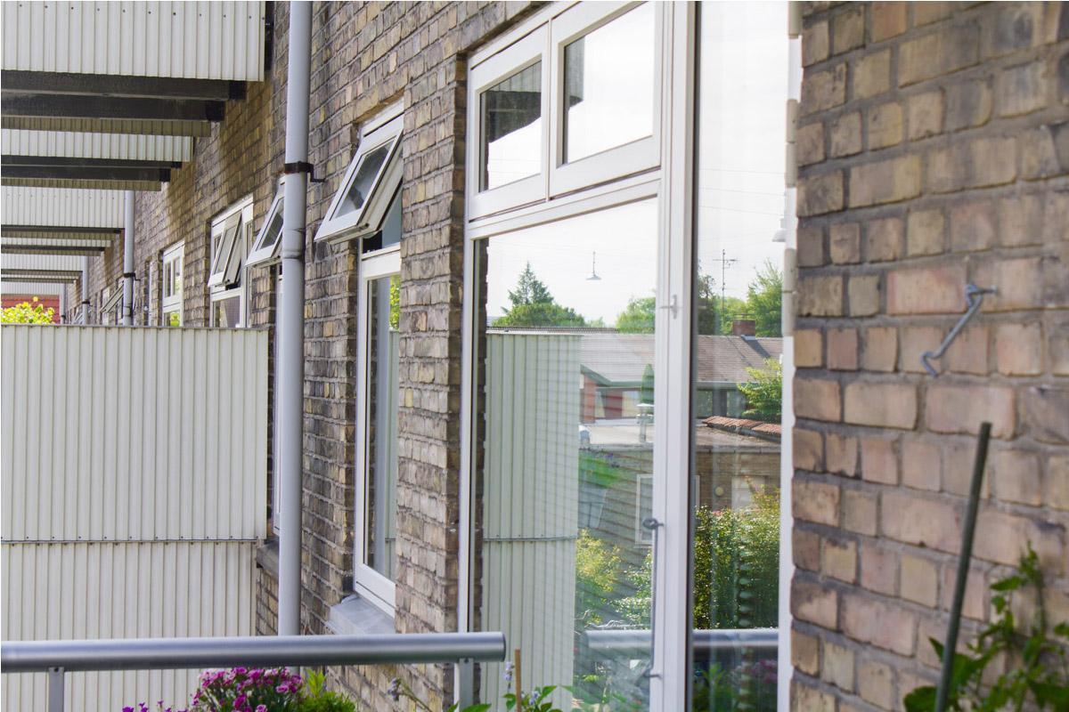 Nye vinduer hos AB Damsøhusene