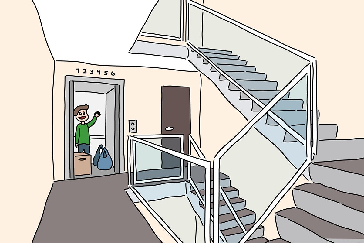 Picture of: Guide Elevator I Andelsboligforeningen