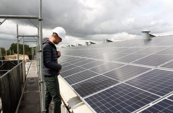 Solceller AB Lyngby Port
